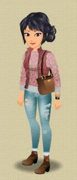 FEMALE OUTFIT (WINDOW SHOPPING)