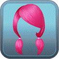 LOW PIGTAILS (PINK)