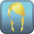BRAIDED LOW PIGTAILS (BLONDE)