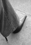 Stiletto under jeans