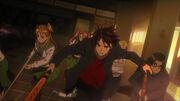 Takashi leads escape
