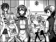 Riser peerage manga party 1