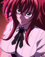 Rias angered at Shalba's Actions