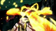 Tannin using fire
