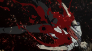Issei gravely wounded by Fenrir