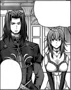 Lord Gremory and Venelana in the Manga