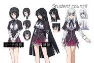 Student council - Highschool DxD