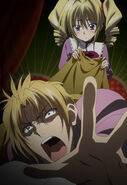 Ravel tries to drag Riser out of bed