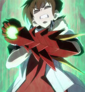 Issei Boosting his Strength