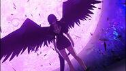Kalawarner revealing her wings