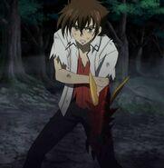 Issei battle-worn against Kuroka