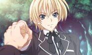 Yuuto fist bumping Issei