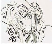 Koneko Nekomata Form - Animator Sketch