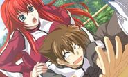 Rias training Issei
