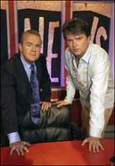 The team captains - Ian and Paul