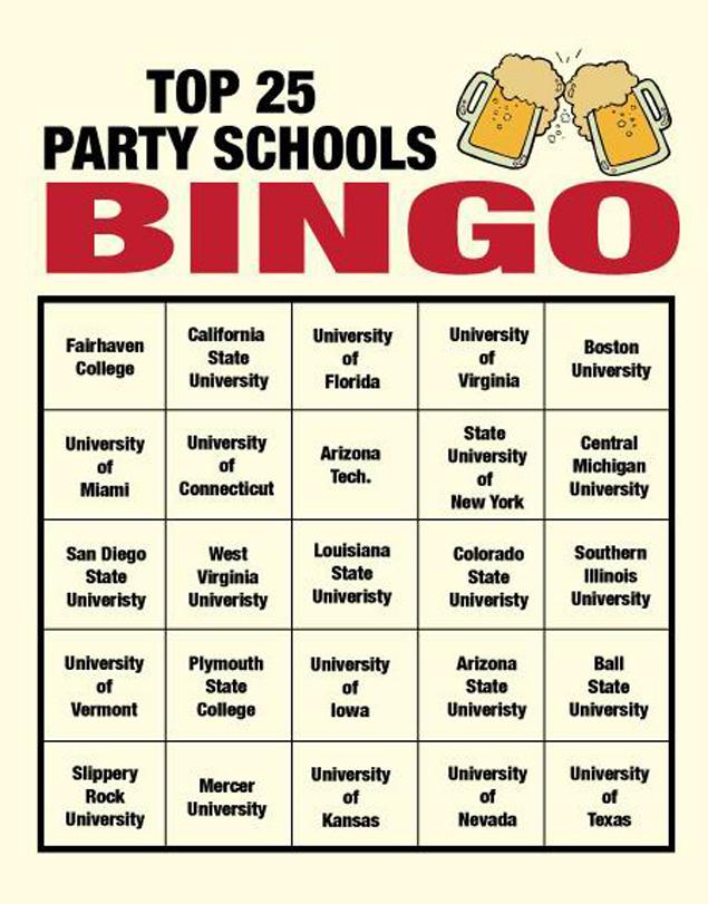 College-bingo
