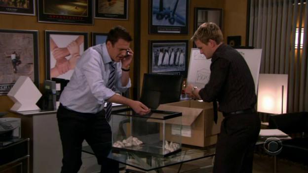 File:Barney and Marshall plan a prank.png