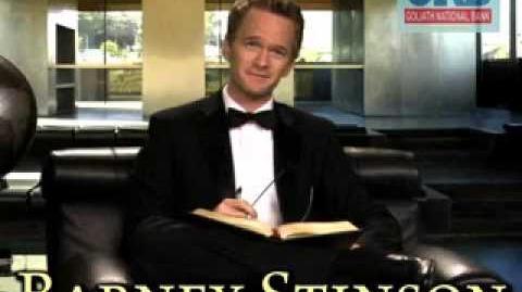 How I Met Your Mother - Barney's Video Resume