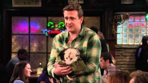 How I Met Your Mother Marshall Possum Rex