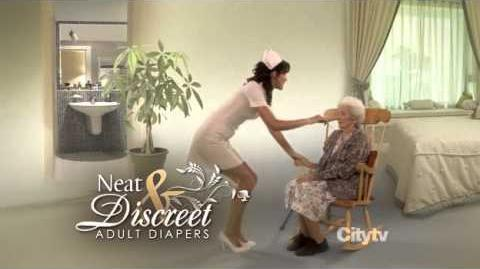 Neat and Discreet Adult Diapers