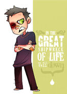 Great Shipwreck of Life by vert is ninja