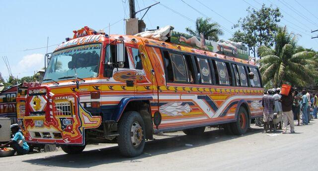 File:Tap tap public transportation Haiti.jpg