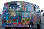 VW Bus T1 in Hippie Colors 2 retouched