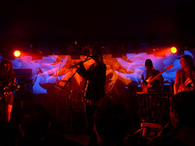 Ozric Tentacles live in Zagreb in 2004