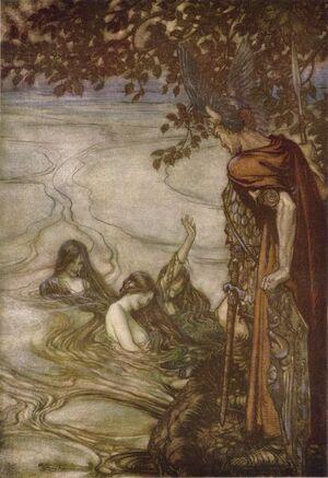 Siegfried Rhine Maidens