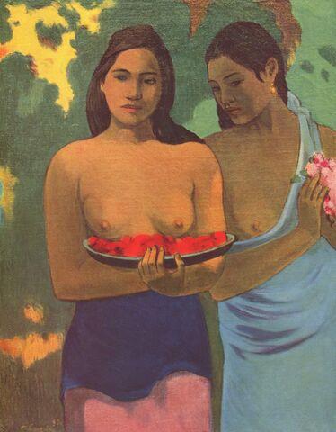 File:Paul Gauguin Two Tahitian Women.jpg