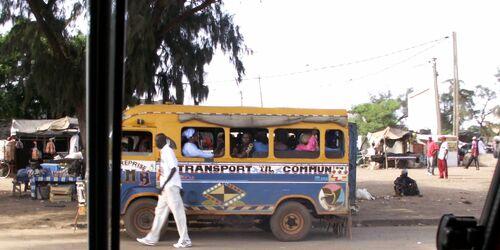 Bush Taxi Senegal