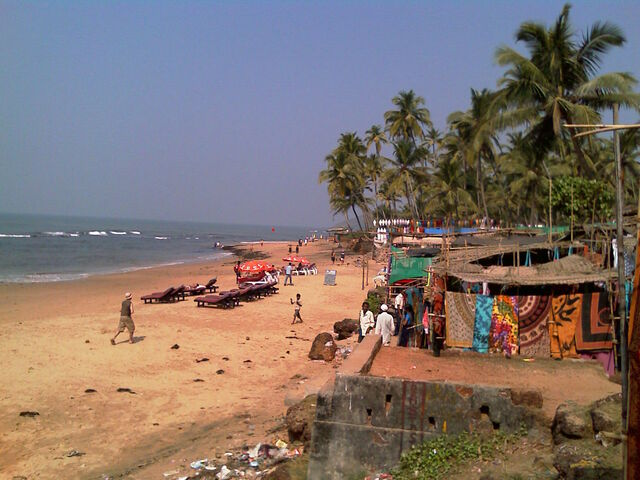 File:Anjuna beach Goa.jpg