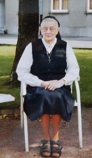 Zuster Ernestine Declercq te Anzegem