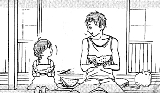 File:Suzume's father and Suzume.jpg