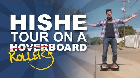 Back to the Future Day - HISHE Tour on a Rollerboard