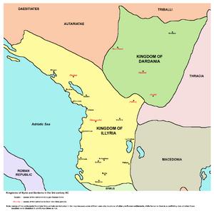 Kingdom of Illyria and Dardania