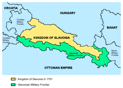 Kingdom of Slavonia-1751