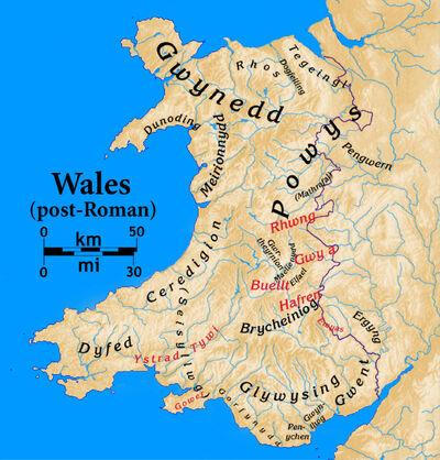 Wales-post Roman