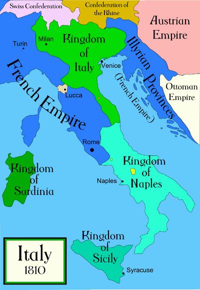 Italy c 1810