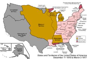 United States 1816-1817-03
