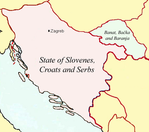 State of Slovenes, Croats and Serbs-1918