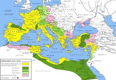 Europe-germanic tribes-Augusto 30aC - 6dC 55%CS
