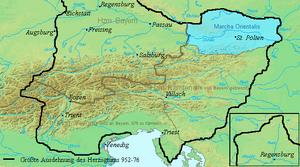 March of Austria-Duchy of Bavaria