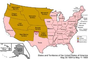 United States 1854-1858
