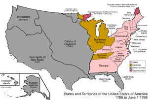 United States 1795-1796