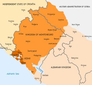 Kingdom of Montenegro (1941-1944)
