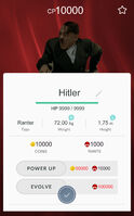 Bunkemon Stat Card Hitler
