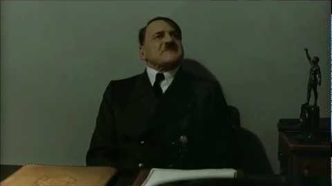 Hitler is informed scene HD