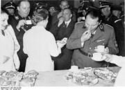 Hermann Göring eating Berlin 29 January 1937