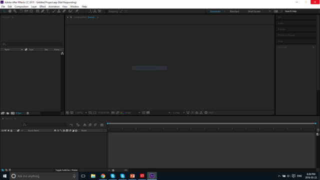 File:After Effects on Windows 10.PNG